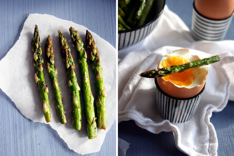 Spargel mit wachsweichen Eiern || Kochkarussell