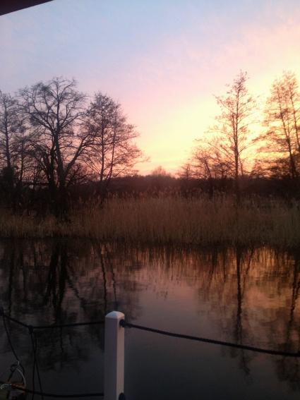 Sonnenuntergang am BunBo