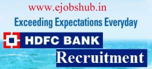 recruitment and selection process of hdfc bank