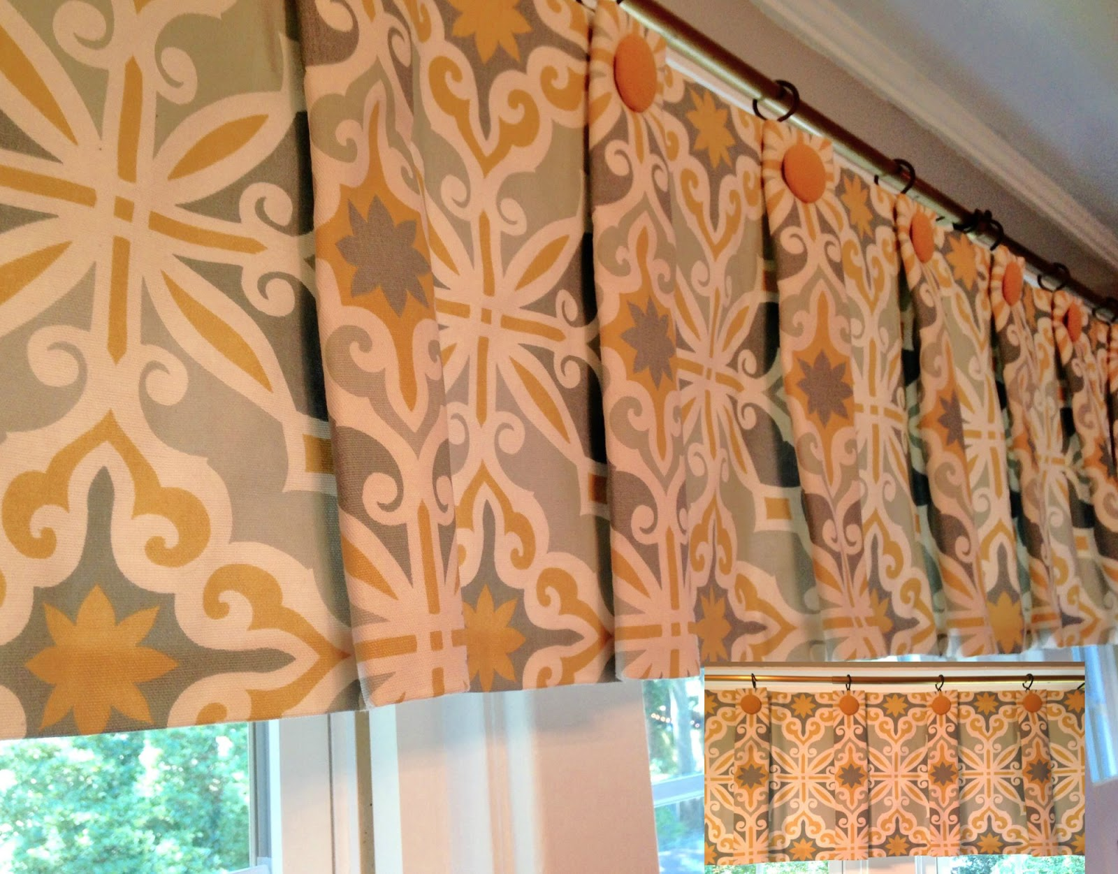 solid orange walmart burnt stupendous windows blue curtains kitchen of for valances full size valance and gray window