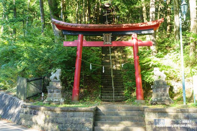 魔王天神社(山梨県・鳴沢村)