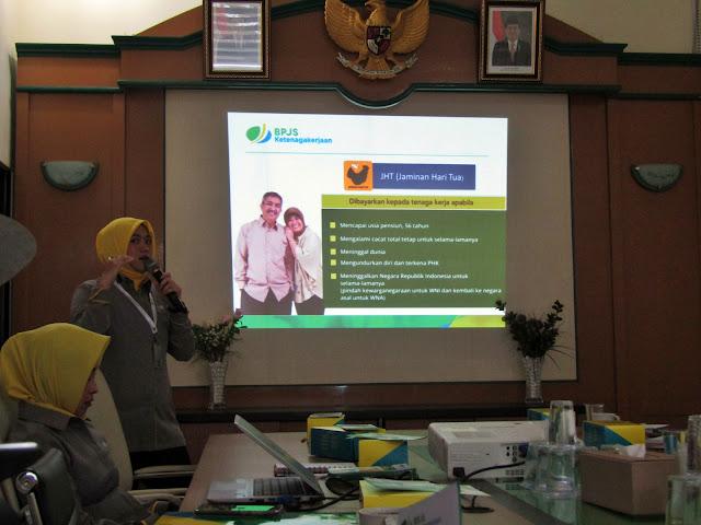 Anysa Isyawari, pegawai BPJS TK Kota Malang