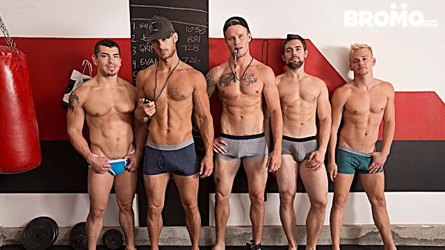 Train Me Part #4 – Evan Marco, Griffin Barrows, Jeremy Spreadums, John Delta, Shawn Reeve