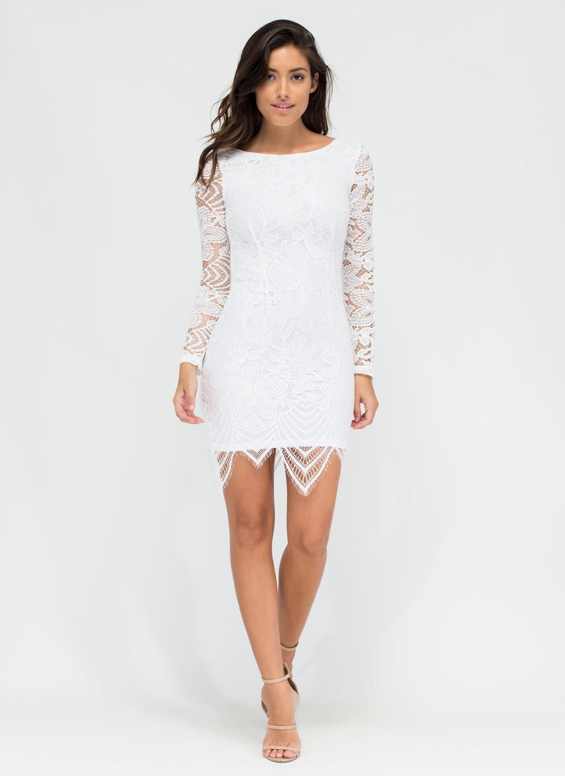vestidos de noche cortos pegados al cuerpo