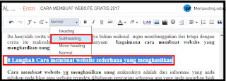 cara membuat artike seo friendly