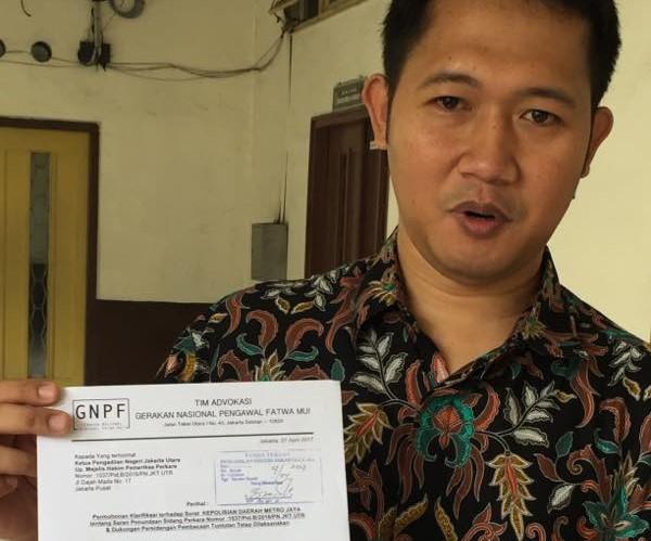 Penundaan Sidang Tuntutan Ahok Disetujui, GNPF-MUI Pertanyakan Sikap Jaksa Agung