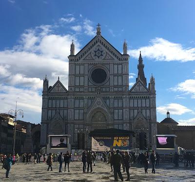 Basilique Santa-Croce, visiter Florence en 1 jour, Italie