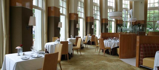 Restaurante Aureole em Las Vegas
