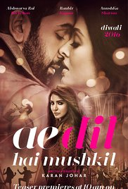 Watch Ae Dil Hai Mushkil Online Free Putlocker