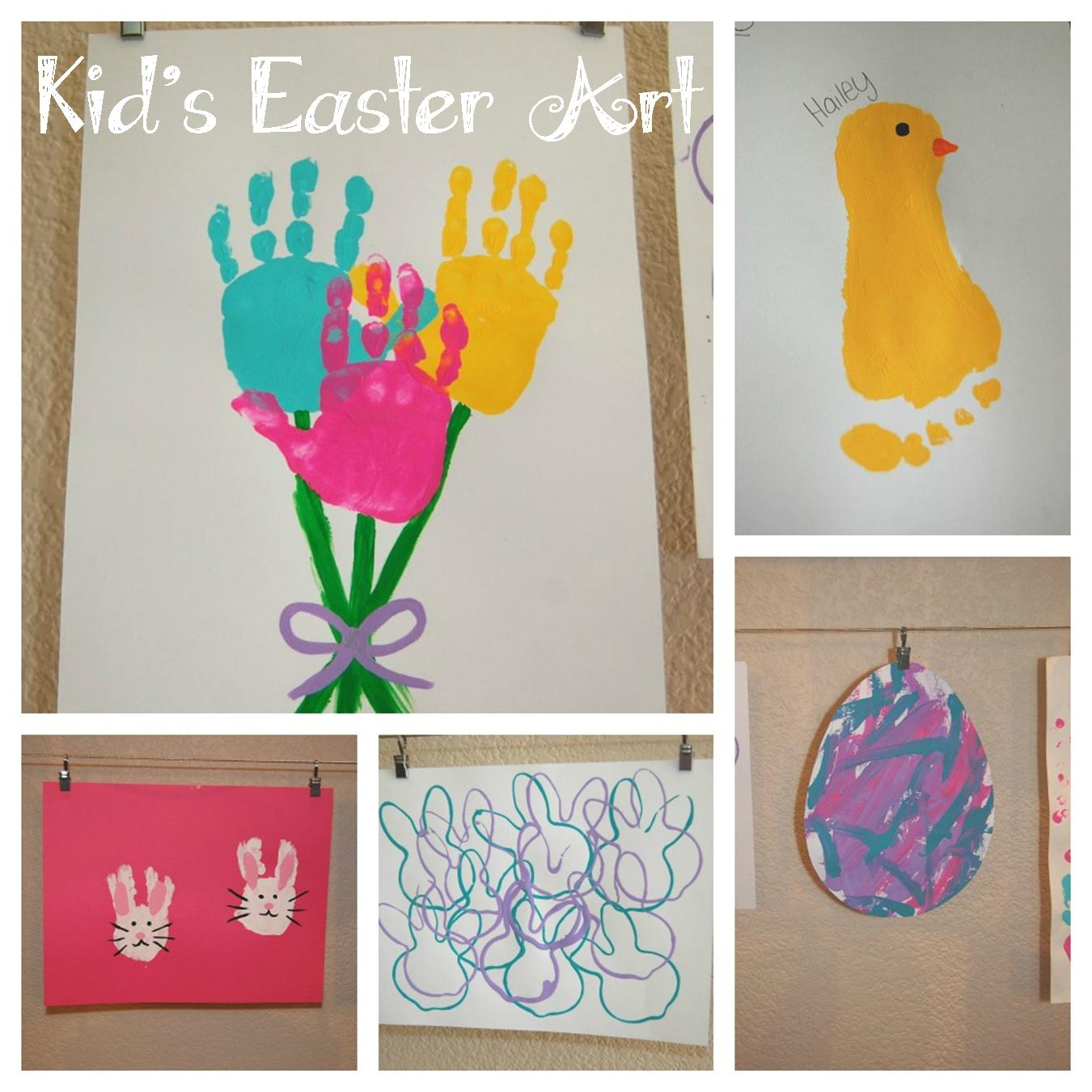 Kid S Easter Art