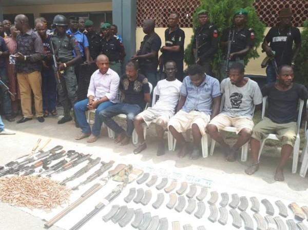 "Police Parades Billionaire Kidnapper Chukwudi ""Evans"" Onuamadike & his Gang"