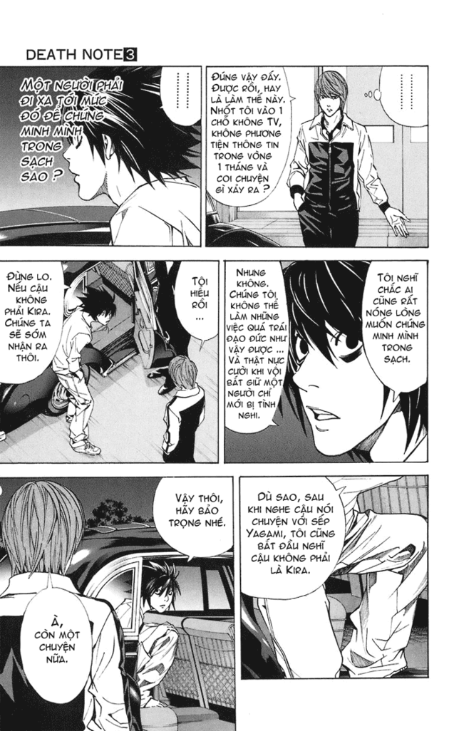 Death Note chapter 022 trang 18