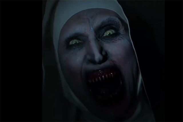 YouTube elimina aterrador tráiler de 'La monja'