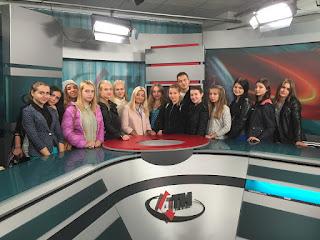 """Студенти спеціальності """"Медіа-комунікації"""" відвідали телекомпанію """"АТН"""""""