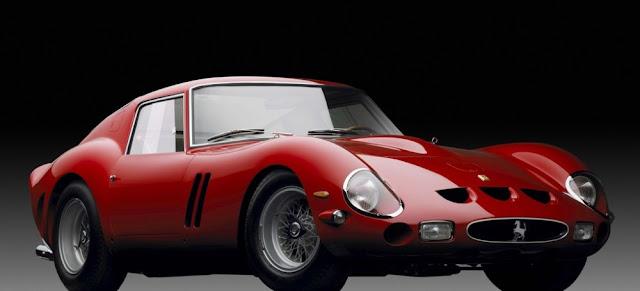 Ferrari 250 GTO 1960s Italian classic sports car