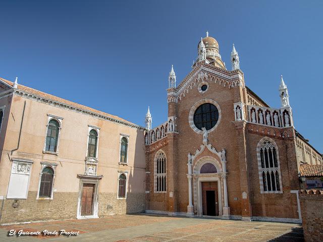 Iglesia de la Madonna dell'Orto - Cannaregio, Venecia por El Guisante Verde Project