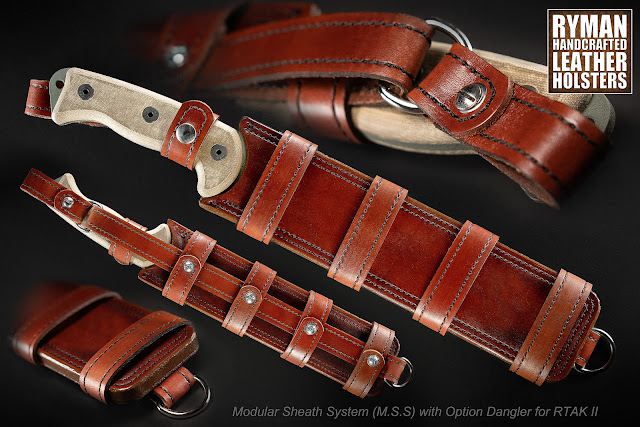 Modular Sheath System (M.S.S.) with Optional Dangler for Ontario Knife Co. RTAK II