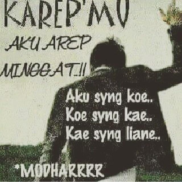 Gambar DP BBM Kata Kata Patah Hati Bahasa Jawa  Motivasi