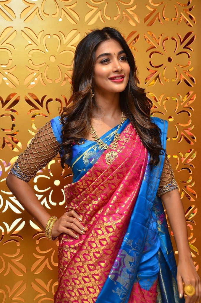 Pooja Hegde Launches Anutex Shopping Mall Event Pics