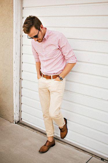 look masculino rosa