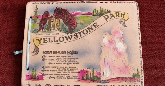 Thriftspiration: A Trip To Yellowstone Park And Beyond, 1957.