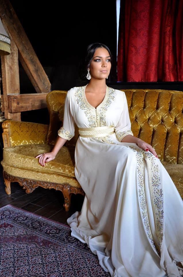 Catalogue 2016 Caftan Marocain   Takchita de Luxe - Caftan Marocain ... 2e31923e75a