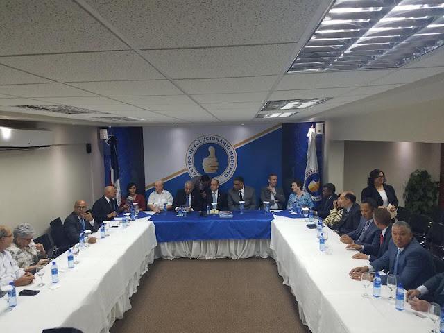 """PRM propone """"tope"""" para financiamiento de campaña política"""