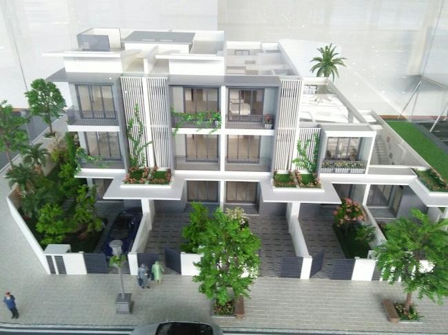 mẫu thiết kế liền kề ST4 gamuda gardens