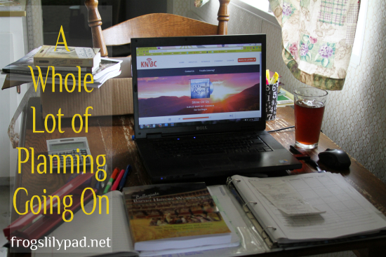 Planning and a Roundup of Homeschool Links l frogslilypad.net