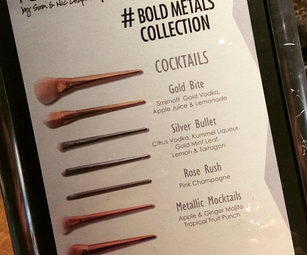 Bold Metal Cocktails