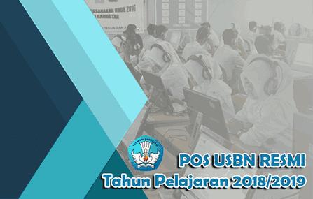 Download POS USBN Resmi Tahun Pelajaran 2018/2019