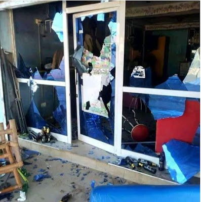 Blood Flows As Fight Breaks Out At A Popular Nigerian Bar In Ghana (Graphic Photos)