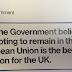 Petition to stop £9m pro-EU leaflets reaches 150K   NEWS