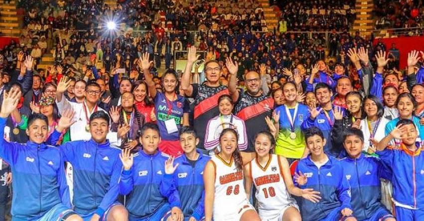 MINEDU: Presidente Vizcarra y ministro Alfaro clausuran Juegos Deportivos Escolares «Daniel Peredo» www.minedu.gob.pe
