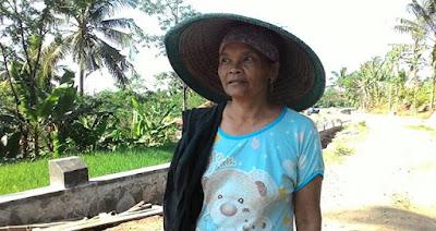 ''Berkat TMMD ,  Jika Ingin ke Desa Sebelah Warga Tidak Akan Turun Sungai Lagi''