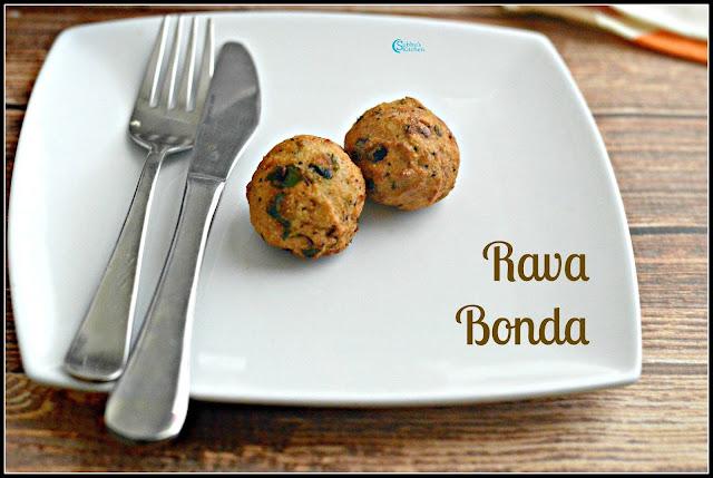 Rawa Bonda (Sooji Bonda)