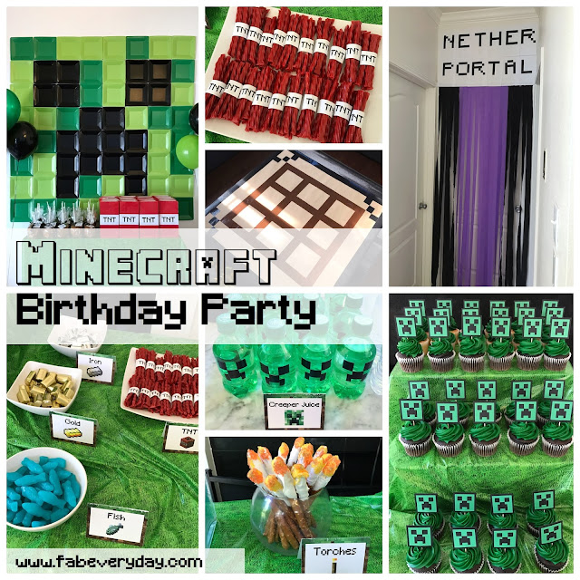 graphic about Printable Minecraft Birthday Invitations identify Fab Day by day For the reason that Daily Lifetime Ought to be Fantastic