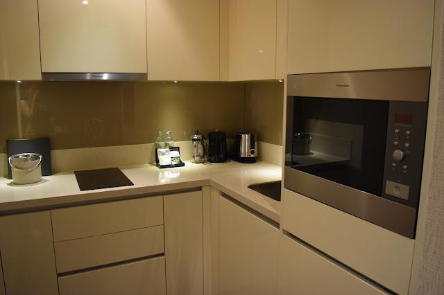 Oriental Residence Bangkok Kitchen
