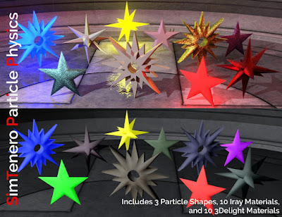 SimTenero Particle Physics - Star Emitters