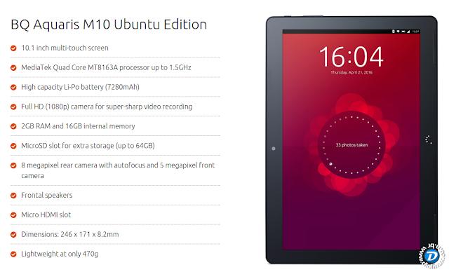 Ubuntu Tablet