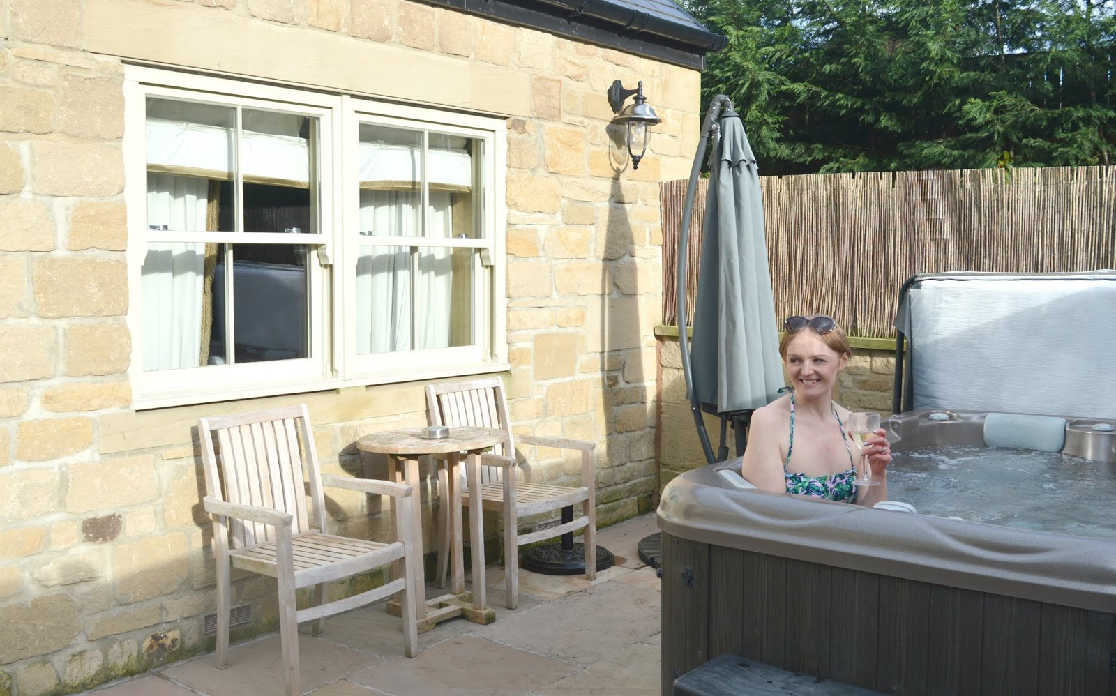 Luxury Room and Hot Tub at Crab & Lobster, Thirsk