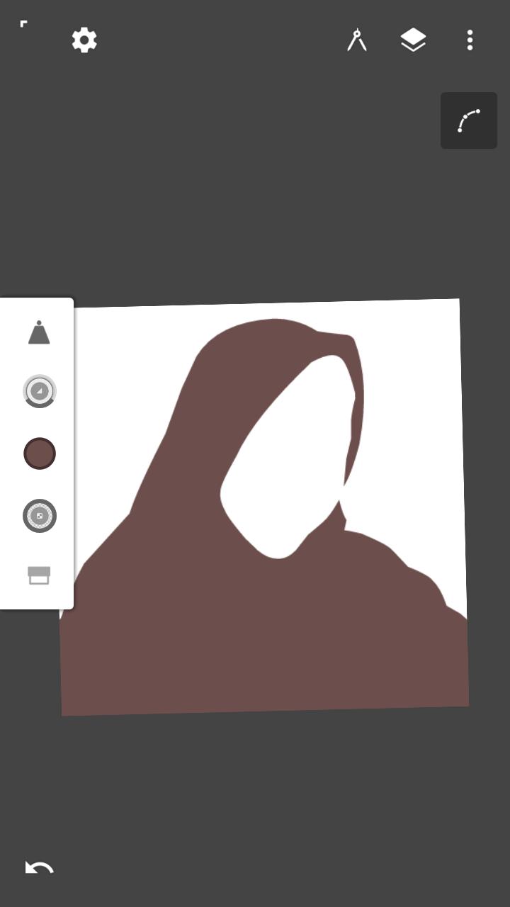 Tutorial Vector hijab tanpa Pallet di Infinite Design - Cara