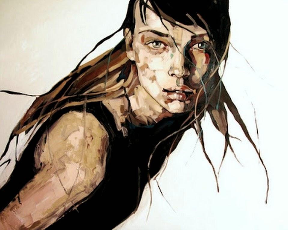 Cuadros Pinturas Oleos Retratos Rostros De Mujeres A Lápiz