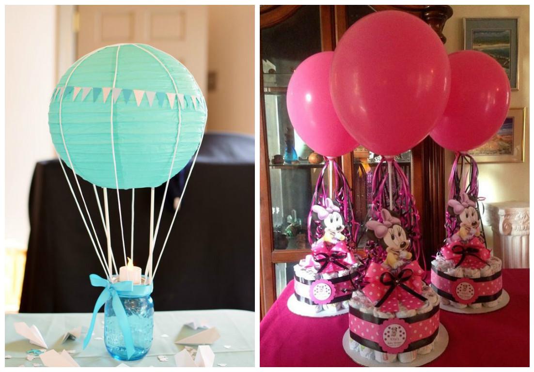9 ideas para decorar con globos tus fiestas lodijoella - Centros de mesa con globos ...