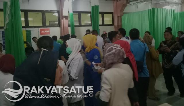 Korban Tsunami dan Gempa Palu, Penuhi IGD RS Wahidin Makasar, Mereka Butuh Bantuan