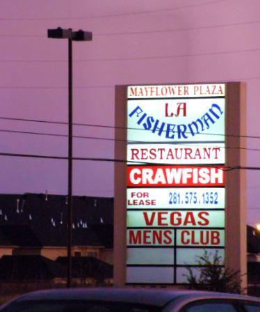 La Fisherman Restaurant Houston Texas