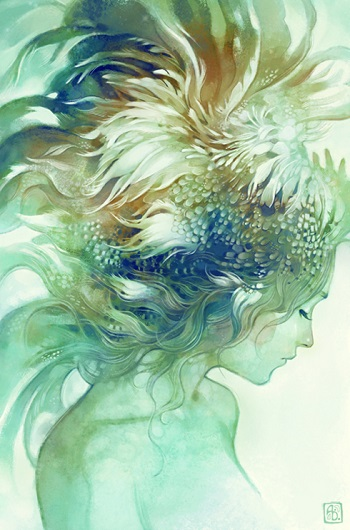 """Comb"" por Anna Dittmann 