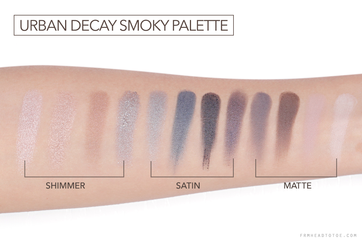 Naked Smoky Eyeshadow Palette by Urban Decay #6