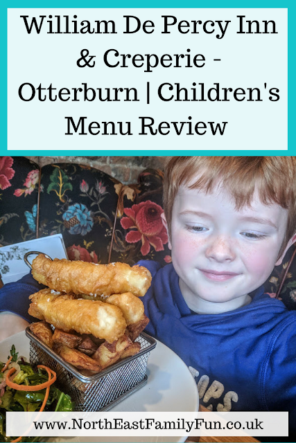 William De Percy Inn & Creperie - Otterburn | Children's Menu Review