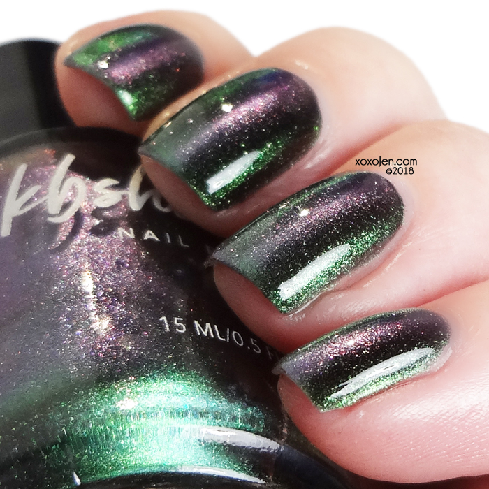xoxoJen's swatch of KBShimmer You Rocket My World